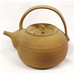 Stoneware Pottery Teapot by John Fisher