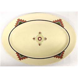 Vintage Iro-Tan Ware Iroquois China Platter