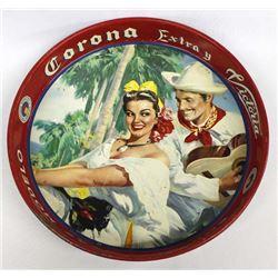 Vintage Corona Extra Mas Fina Beer Tray