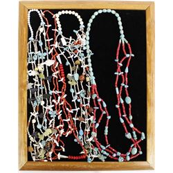 4 Beaded Necklaces by Kathy Kills Thunder