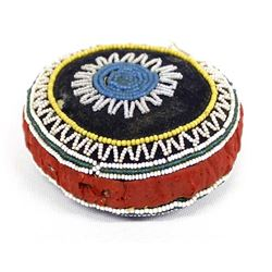 Native American Micmac Beaded Pin Cushion