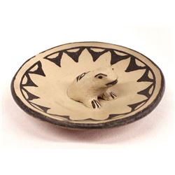 Cochiti Pottery Frog Shallow Bowl