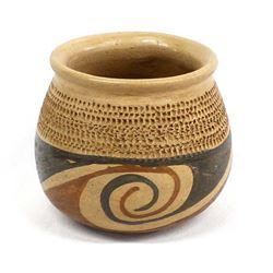Vintage Mata Ortiz Pottery Jar