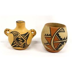 2 Pieces of Native American Jemez Pottery