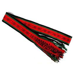 Native American Navajo Woven Wool Textile Sash