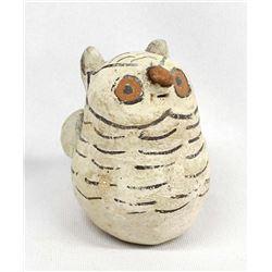 Vintage Native American Cochiti Pottery Owl