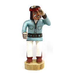 Native American Hopi ''Old Man'' Kachina, E. Adams