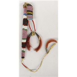 Vintage Native American Beaded Awl Case