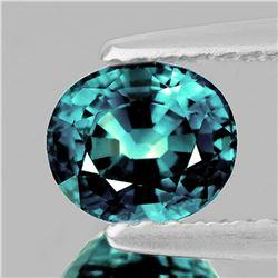 Natural Bluish Greenish Sapphire 6x5 MM {Flawless-VVS}