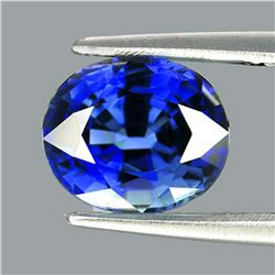 Natural Kashmir  Royal Blue Sapphire 5.5x4.5 MM - VVS