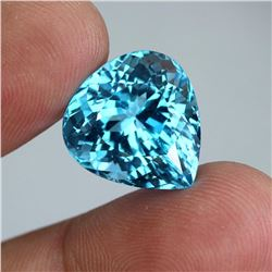 Natural Top Sky Blue Topaz 21.88 Ct