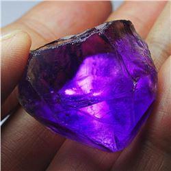 Natural Crystal Deep Purple Amethyst Rough 140 Carats