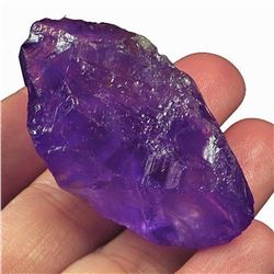 Natural Purple Amethyst Specimen Rough 145 Ct