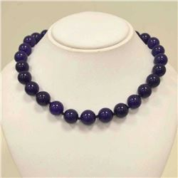 Beautiful Amethyst Bead Necklace