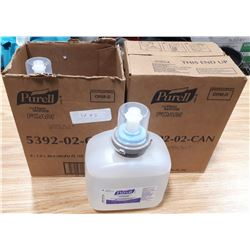 2 BOXES OF PURRELL FOAM HAND SANITIZER