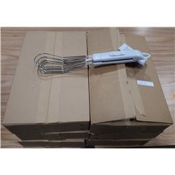 6 BOXES OF MULTIPURPOSE WHISKS