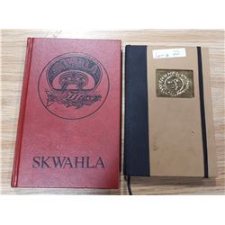 SKWAHLA BOOK AND NOTEBOOK