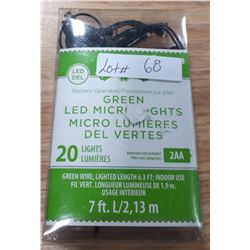 BATTERY OPERATED LED MICRO LIGHTS
