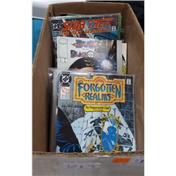 BOX OF MISC COMICS