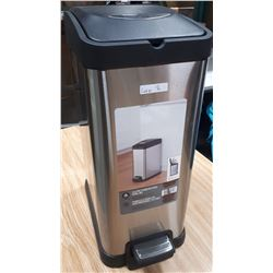 HOMETRENDS 15L STAINLESS STEEL TRASHCAN