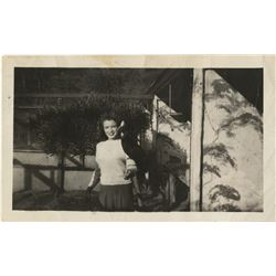 "Marilyn Monroe inscribed personal photograph, ""This picture was taken at Wrigley's Bird Park…"""