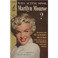 Marilyn Monroe (6) early career magazines and biography.