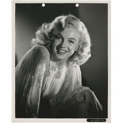 Marilyn Monroe early keybook portrait photograph.