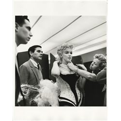 Marilyn Monroe (3) photographs from a charity event at Madison Square Garden by Milton H. Greene.