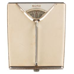 Marilyn Monroe personal home weight scale.