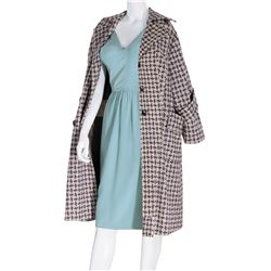 Marilyn Monroe distinctive wool overcoat from her personal wardrobe.
