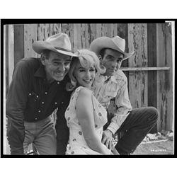 Marilyn Monroe (4) studio negatives from The Misfits.
