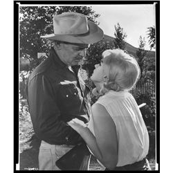 Marilyn Monroe (3) studio negatives from The Misfits.