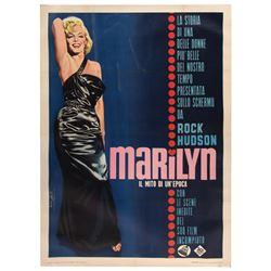 Marilyn Monroe Italian 4-fogli poster for Marilyn.