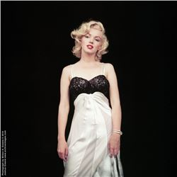 "Marilyn Monroe ""Negligee Sitting 27"" mammoth exhibition print by Milton H. Greene."