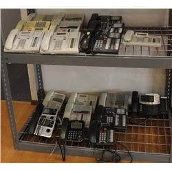 LOT OF 20 NORTEL AND MERIDIAN OFFICE PHONES