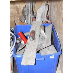 LOT OF ASSORTED TROWELS