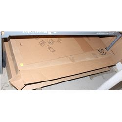 2 CASES OF HEAVY DUTY CARDBOARD BOXES