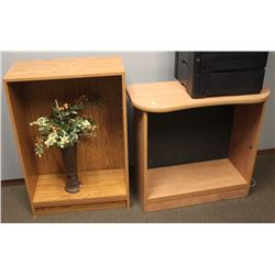 SET OF 2 WOODEN TABLES