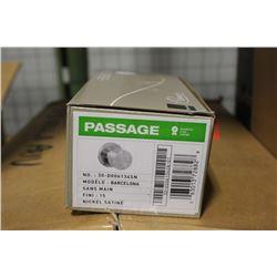 NEW BOX OF 22 TAYMOR BARCELONA PASSAGE DOOR KNOBS