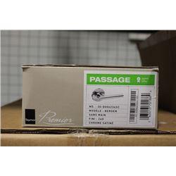 NEW BOX OF 20 TAYMOR BERGEN PASSAGE DOOR HANDLES