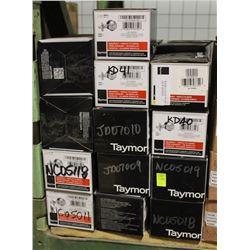 LOT OF 37 NEW TAYMOR SINGLE CYLINDER DEADBOLTS