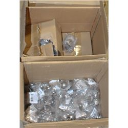 3 BOXES OF NEW TAYMOR PEDESTAL KNOBS