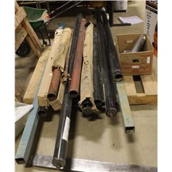 PALLET OF TELESCOPING SUPPORT POLES