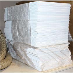 LOT OF BLANK CORRUGATED SIGNS