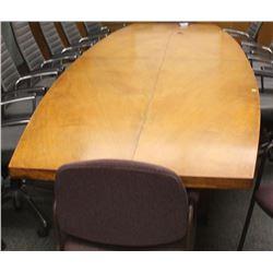 """4 PIECE 18' X 54"""" BOARDROOM TABLE"""