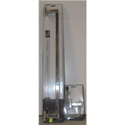 """NEW TAYMOR ELECTRA 24"""" TOWEL BAR AND PAPER HOLDER"""