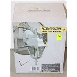 NEW GALAXY OUTDOOR LANTERN 301020WH