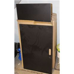 "CASE OF 8 CHALKBOARDS 32"" X 20"""