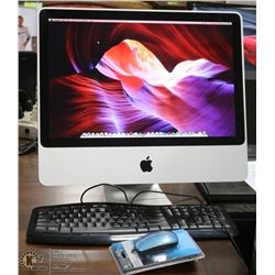 "20"" APPLE iMAC/8GBRAM/EL CAPITAN OSX INSTALLED/MS OFFICE"