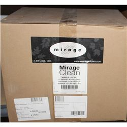 CASE OF MIRAGE CLEAN WOOD FLOOR CLEANING KIT